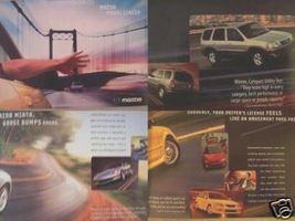 2002 Mazda Full Line Brochure - Protege, B-Series Trucks, Miata, Tribute & More - $8.00