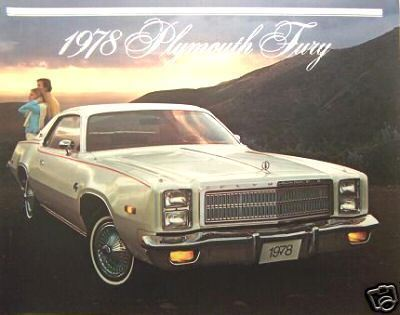 Primary image for 1978 Plymouth Fury Brochure
