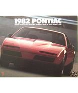 1982 Pontiac Full Line Brochure - Firebird, TransAm, Phoenix, Bonneville... - $12.00