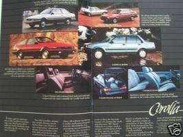 1984 Toyota Cars and Trucks Full Line Brochure - Celica, Camry, Tercel a... - $9.00