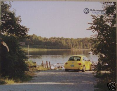 Primary image for 1999-2003 Volkswagen Pre-Owned Cars Brochure