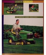 2000 John Deere LX255, LX277, LX279, LX288 Lawn Tractors Brochure - $9.00