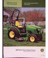 2007 John Deere 2320, 2520 Tractors Brochure - $7.00