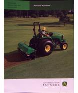 2007 John Deere 800, 1000, 1500, 2000 Aercore Aerators Color Brochure - $5.00