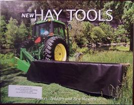 1997 John Deere Rakes, Tedders, Disc Mowers, Sickle Mowers Brochure - $9.00