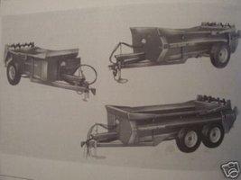 John Deere 350, 370, 550 Manure Spreaders Operator's Manual - $12.00