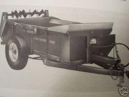 John Deere 350 Manure Spreader Operator Manual - $12.00