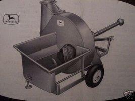John Deere 60H Forage Blower Operator's Manual - $12.00