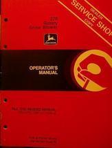 John Deere 270 Snow Blower Operator's Manual - $13.00