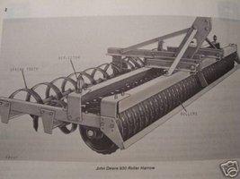 John Deere 930 Series Roller Harrow Operator's Manual - $12.00