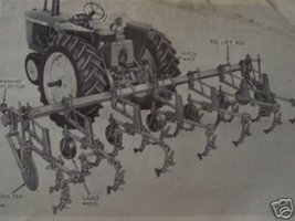 John Deere RG Series Rear-Mounted Cultivators Operator's Manual - $12.00