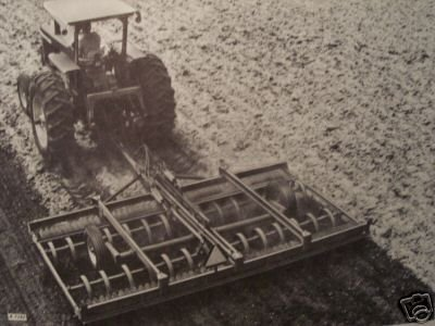 Primary image for John Deere F950 Series Roller Harrows Operator's Manual