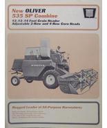 1965 Oliver 535 Combine Brochure - Original - $10.00