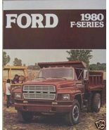 1980 Ford F-Series Medium Trucks Brochure - F600, F700, F800 - $10.00