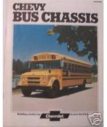 1974 Chevrolet School Bus Chassis Color Brochure - $12.00