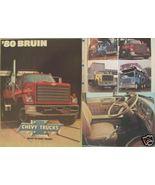 1980 Chevrolet Bruin Trucks Brochure - $12.00