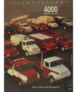 International 4000 Series Truck Original Color Brochure - $10.00