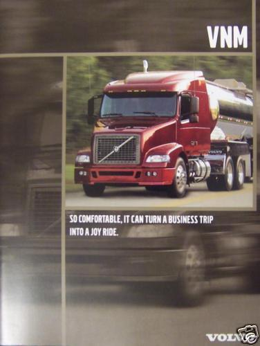 Primary image for 2005 Volvo VNM Daycab & Sleeper Tractors Brochure
