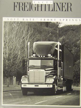 Primary image for 1988 Freightliner FLD Front Suspension Brochure