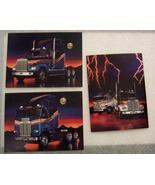 1989 Freightliner Cabover & FLD120 Postcards Lot of 4! - $12.00