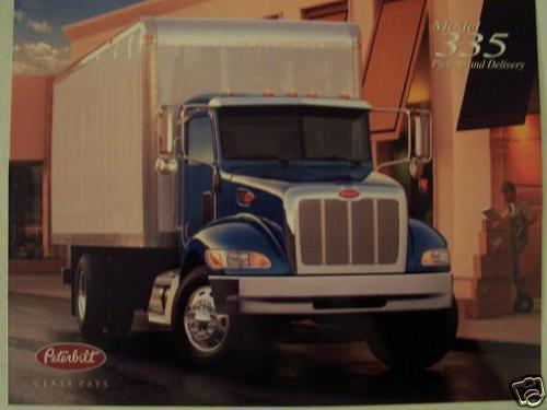 Primary image for 2004 Peterbilt 335 P&D Straight Truck Brochure - Color