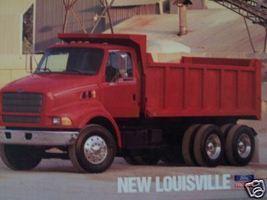 1996 Ford Louisville L-Series Dump Truck Photo Sheet - $8.00