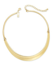 """INC International Concepts Hinged Stirrup Collar Necklace Gold Tone 2"""" e... - $29.99"""