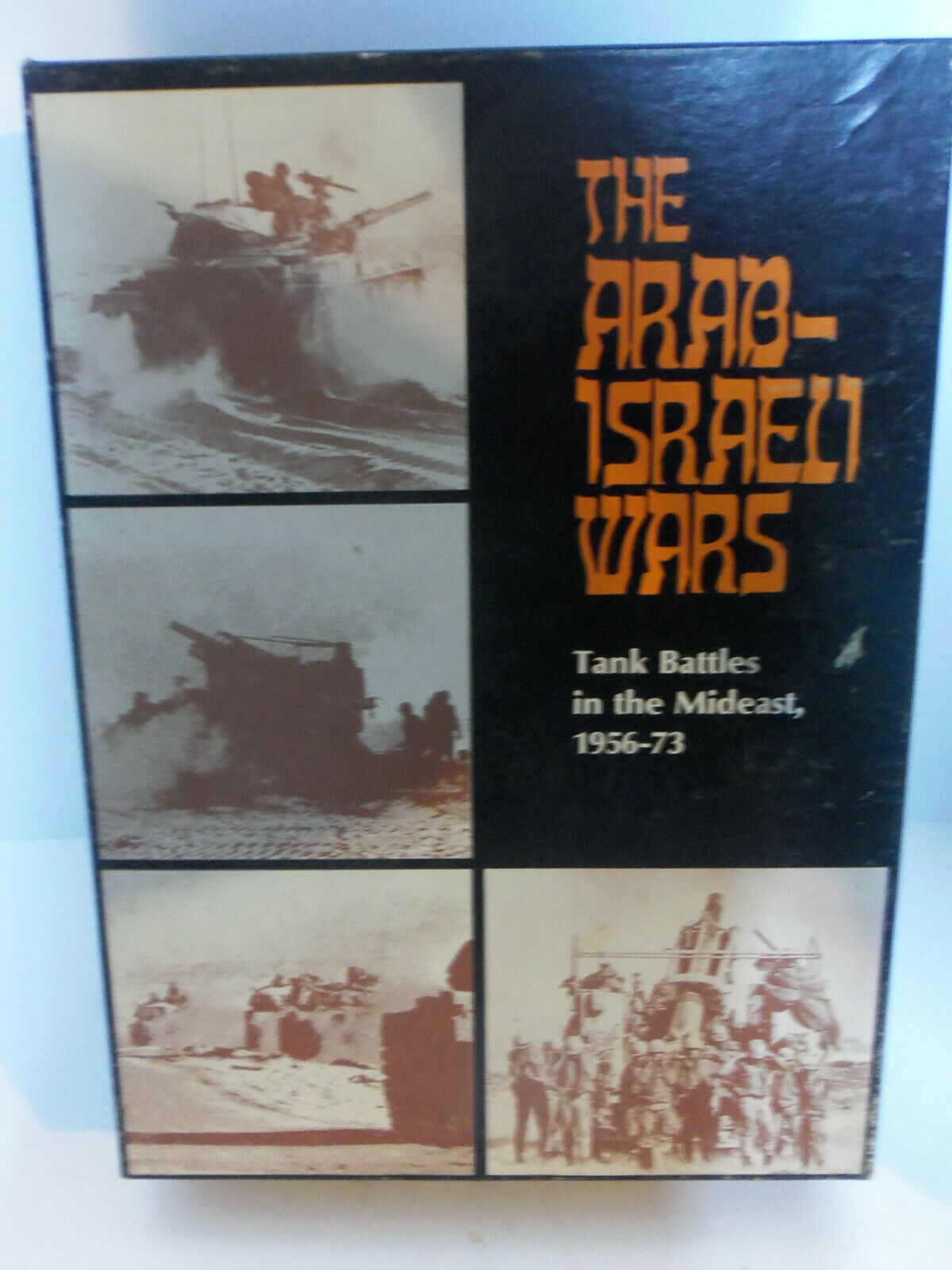 Vintage 1977 Avalon Hill The Arab-Israeli Wars Tank Battles In Middle East GAME