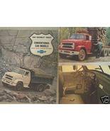 1968 Chevrolet C70, C80 Trucks Original Brochure - $15.00