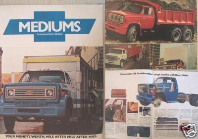 Primary image for 1976 Chevrolet C50, C60, C65 Conventional Trucks Brochure