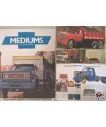 1976 Chevrolet C50, C60, C65 Conventional Trucks Brochure - $10.00