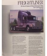 "1990 Freightliner FLD 50"" Raised Roof Sleeper Brochure - $8.00"