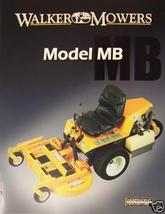 2007 Walker MB Front Mower Brochure - $6.00