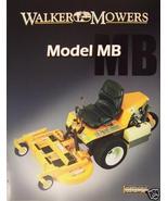 2007 Walker MB Front Mower Brochure - $6.00