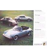 1983 Porsche and Audi Full Line Color Brochure - $15.00