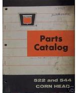 Oliver 522, 544 Combine Corn Heads Parts Manual - $17.00