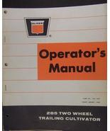 Oliver 285 Two-Wheel Field Cultivators Operator Manual - $12.00