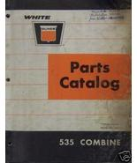 Oliver 535 Combine Parts Manual - Original - $24.00