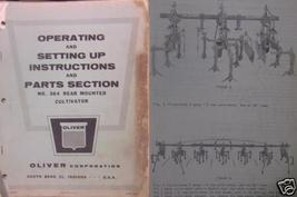 Oliver 364 Rear Cultivator Operator and Parts Manual - $14.00
