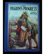 Old c.1933 Illustrated Pilgrim's Progress Book John Bunyan - $24.50
