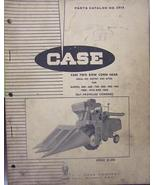 1966 Case F345 Corn Head for Combines - Parts Manual - $16.00