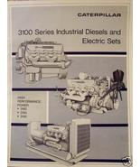 Caterpillar 3145, 3150, 3160 Industrial Engine & Electric Sets Brochure - $12.00