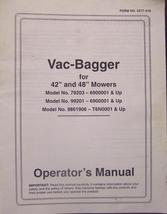 Ford LS-Series Lawn Tractors - Vacuum Bagger Ma... - $10.00