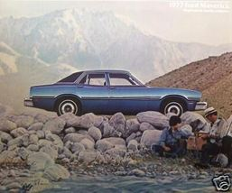 1977 Ford Maverick Brochure - $11.00