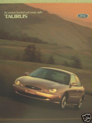 Primary image for 1998 Ford Taurus Brochure