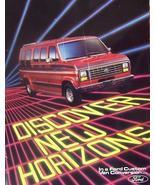 1985 Ford Conversion Vans Brochure - $8.00