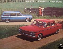 1961 Chevrolet Corvair Brochure - Original - $13.00