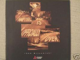1999 Mitsubishi Cars Full Line Brochure - Eclipse, Montero, 3000GT and More - $7.00