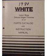 White Yard Boss Lawn Boss Edger Operator's Manual - 1979 - $13.00