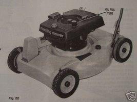 1976 Bolens Walk-Behind Mowers Original Operator's Manual - $13.00
